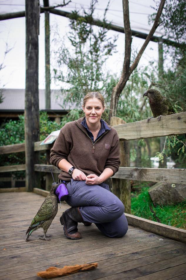Alyssa - Zoo Keeper / Kaitiaki Rawhi Whakaaturanga