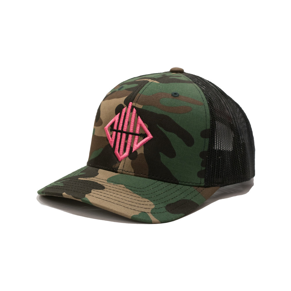 Womens Ghost Logo Pink SnapBack — Out West Outdoors 8b55a106b287