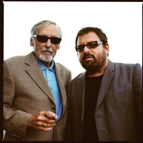 Dennis Hopper and my father, Las Vegas, NV