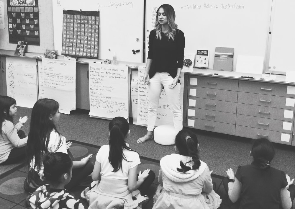 Yareli Quintana Teaching Mindfulness In The Classroom