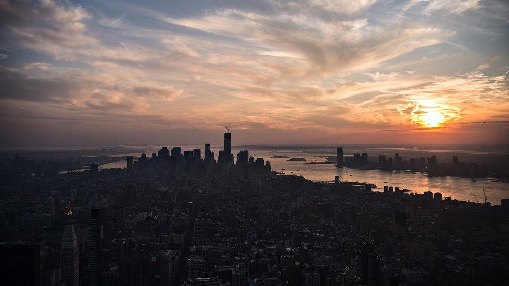 Day's Demise - New York, NY, U.S.A. Nikon D800 - Nikkor 18-55 f/3.5-4.5