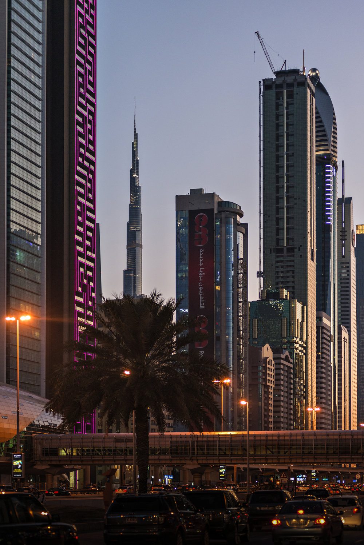 Sheikh Zayed Road - Dubai, U.A.E. Nikon D800 - Nikkor 50 f/1.8D