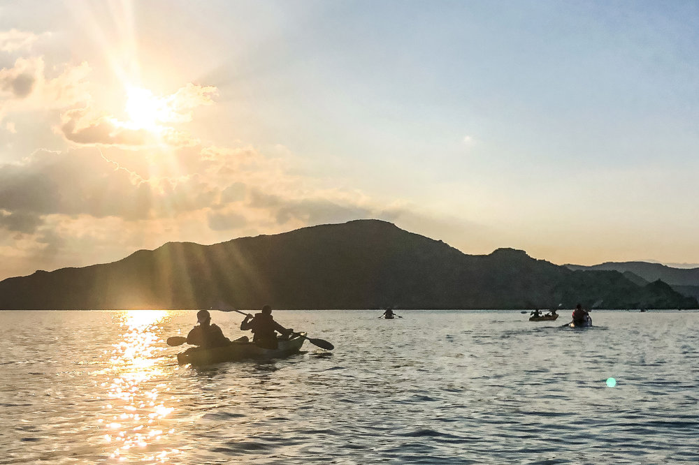 Kayak in Bandar Khairan - Rent a Kayak for a couple of hours or take a guided sunset tour. Located just outside Muscat, this is the perfect way to spend a day out in the bays of Bandar Khairan