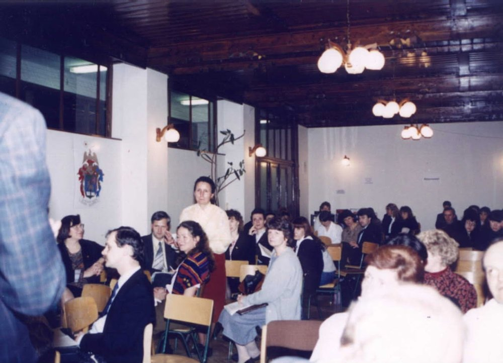The 1st YTL symposium in March 1994