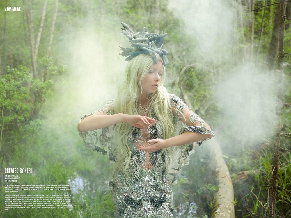 Kerli for V Magazine