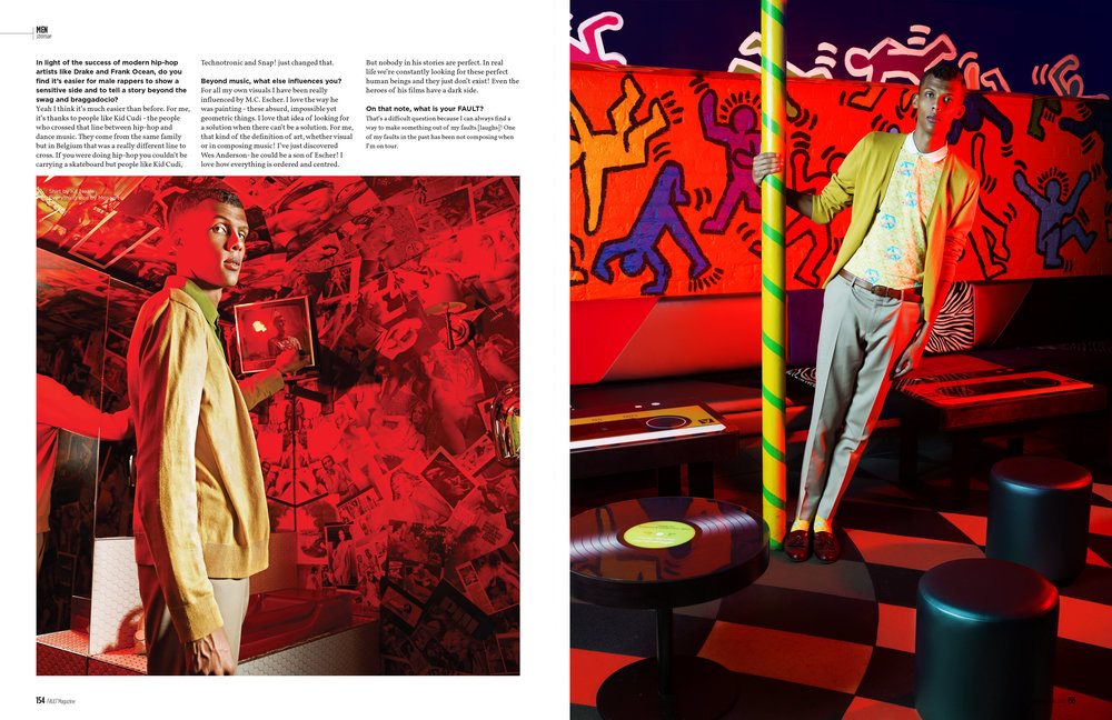 Stromae for Fault Magazine