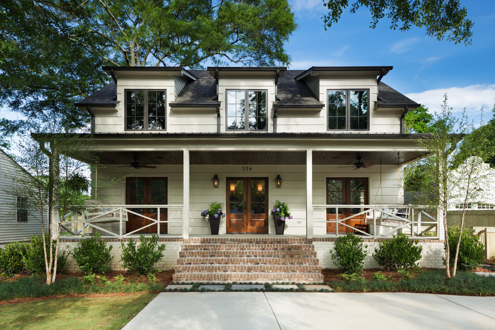 Project Oglsby - Homewood Alabama for Willow Homes and Willow Design Studio