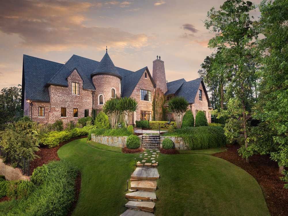 Kings Mountain - Luxury home in Liberty Park photographed for Frusterio Design