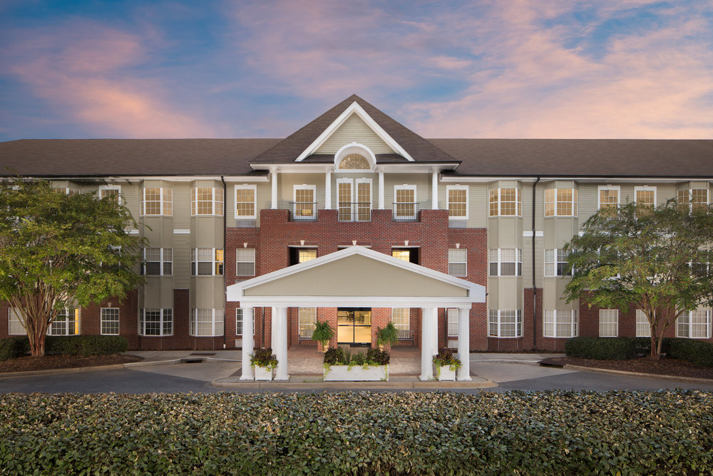 River Highlands - Hoover Alabama retirement community photographed for architect Tim Barron and Builder Maxxus Construction