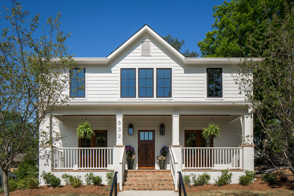 Project Broadway 2 - New residential construction in Homewood Alabama photographed for Willow Homes, Willow Design Studio, and Triton Stone Group