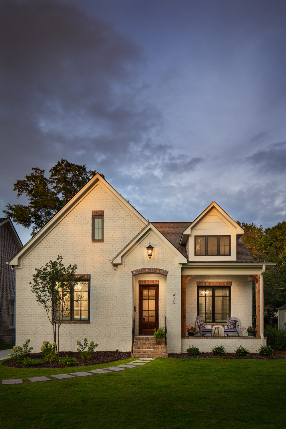 Project Edgewood - Residential new construction in Homewood Alabama photographed for Willow Homes, Willow Design Studio, and Triton Stone Group