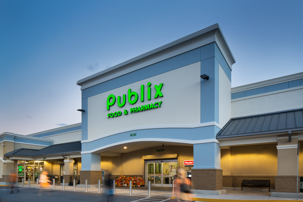 Publix Gulf Breeze Florida - New construction of the Gulf Breeze Florida Publix for MAB America.