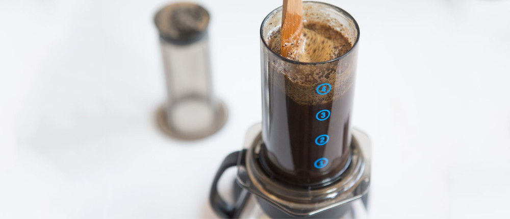 Aeropress header. Courtesy of Heart.