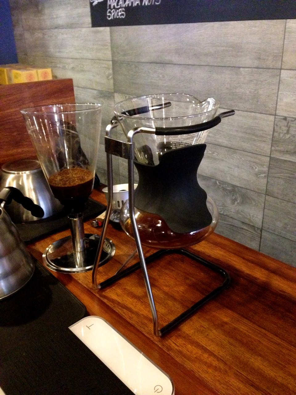 The Reformatory Caffeine Lab - Filter stand