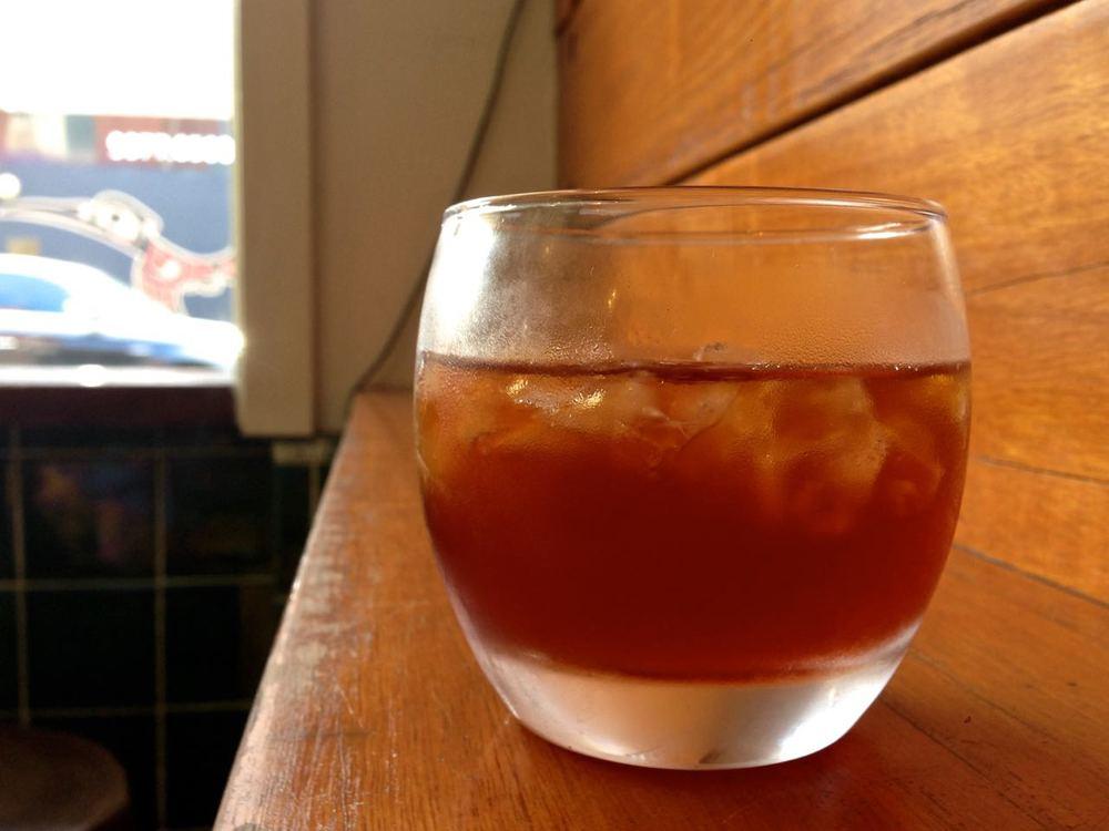 The Cáscara tea at Barefoot