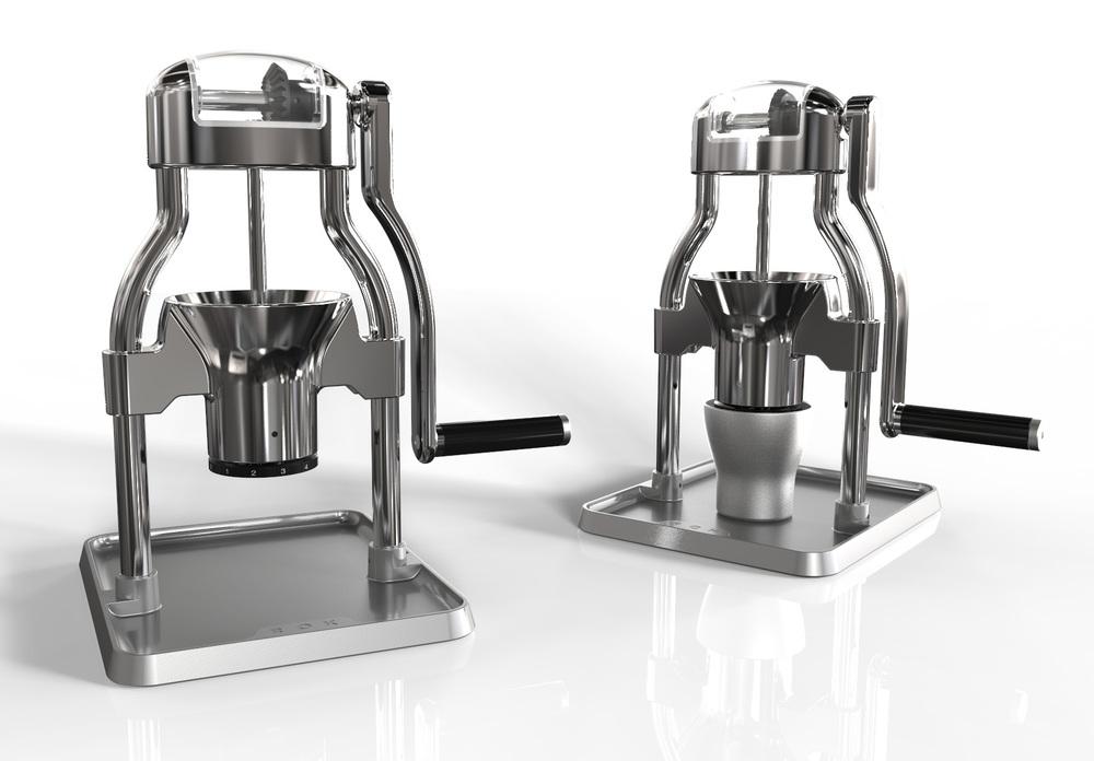 ROK benchtop hand grinder