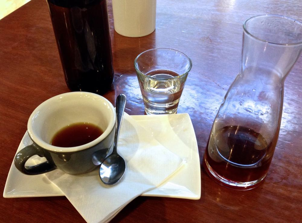 Chemex presentation at The League of Honest Coffee