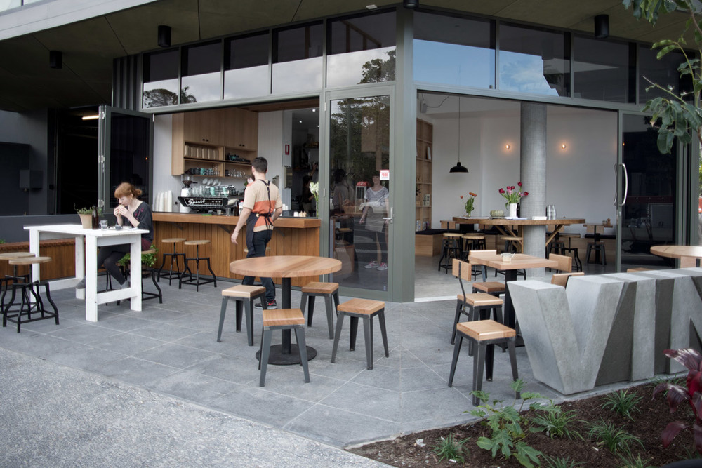 Merriweather - Cafe on the corner in Brisbane