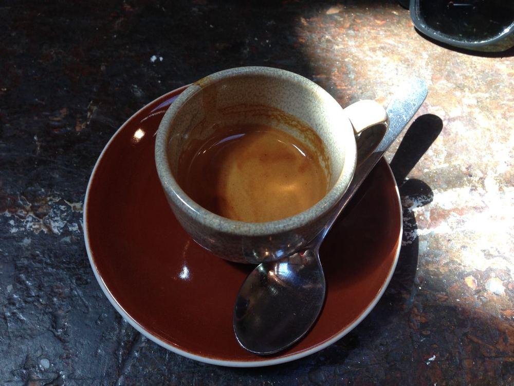 Single origin espresso at Monk Bodhi Dharma