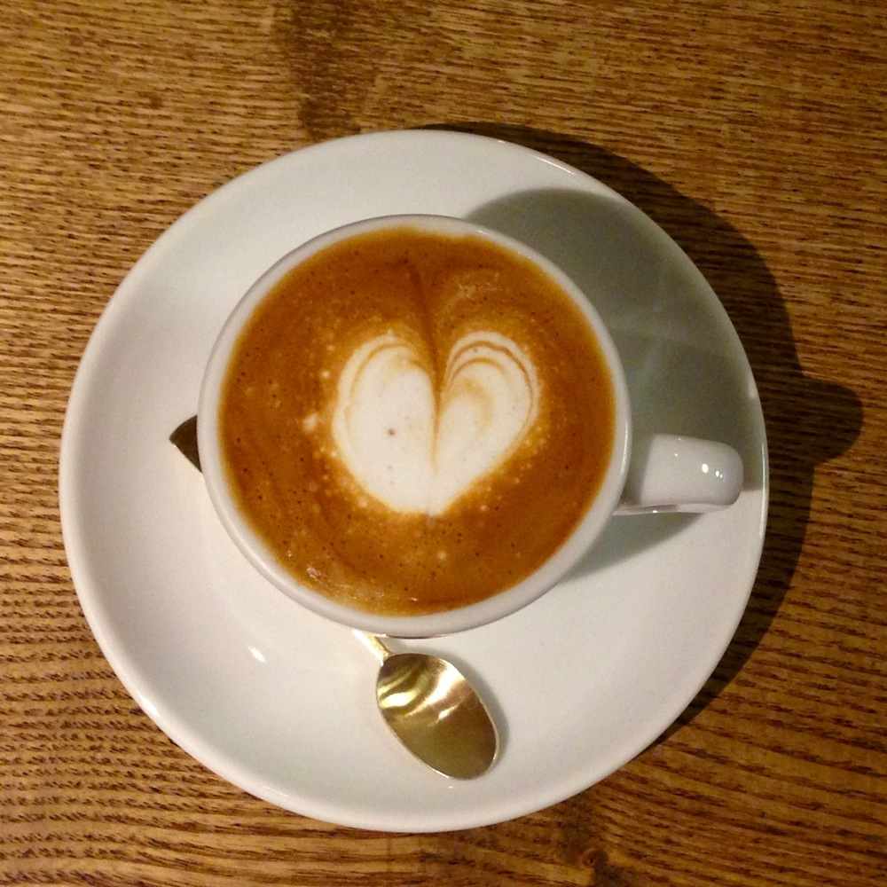 A well-executed macchiato