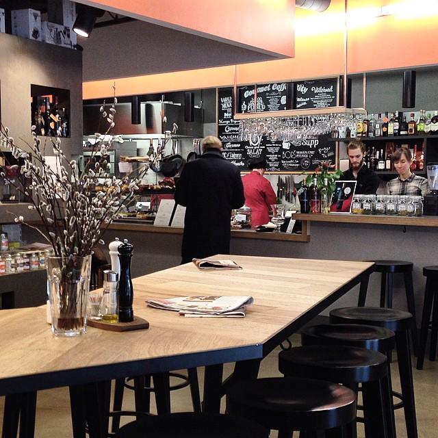 Gourmet Coffee City - counter