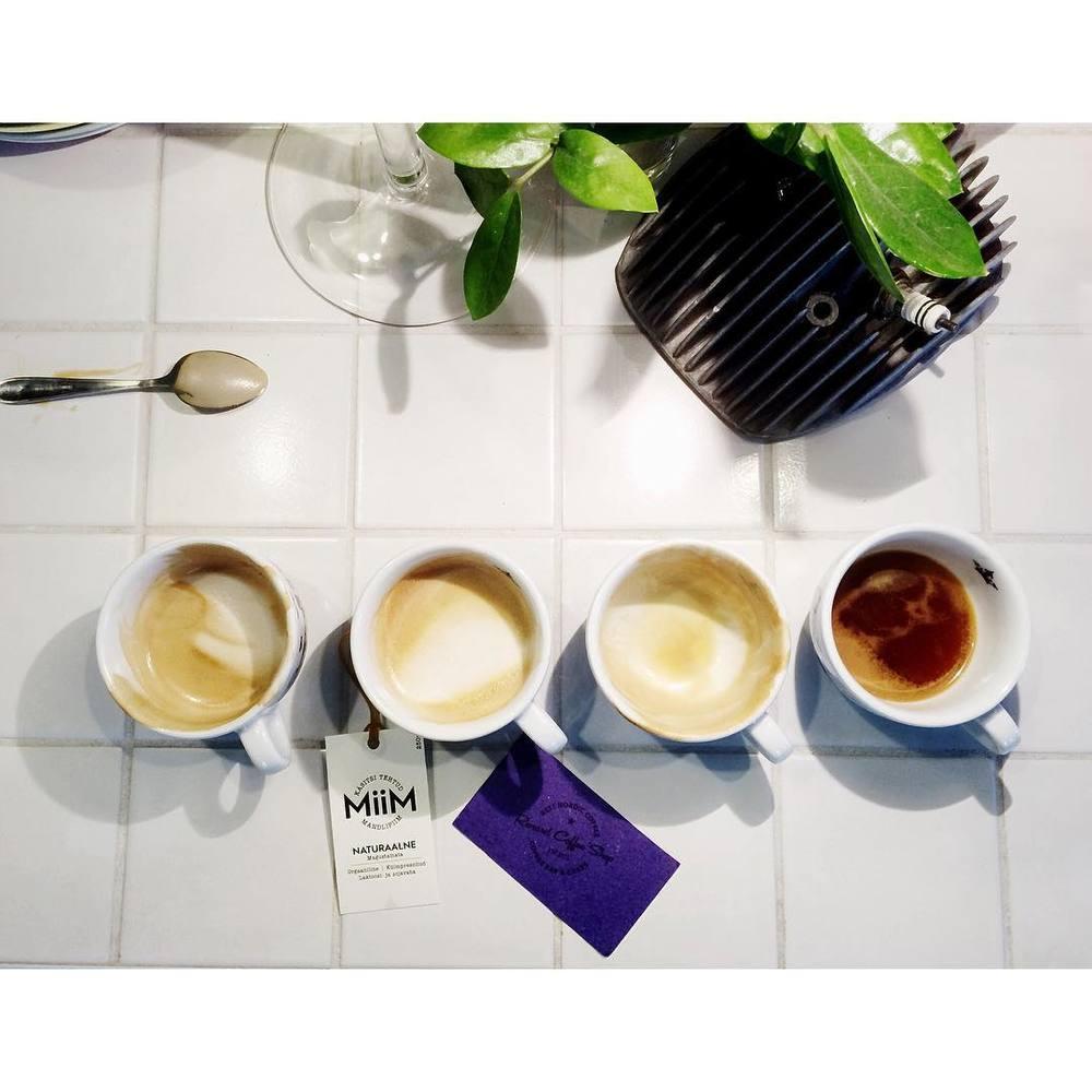 Espresso tastings