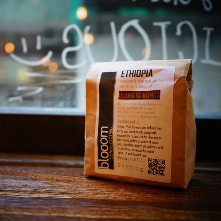 One of their favourite roasters - Bloom (from Macau)