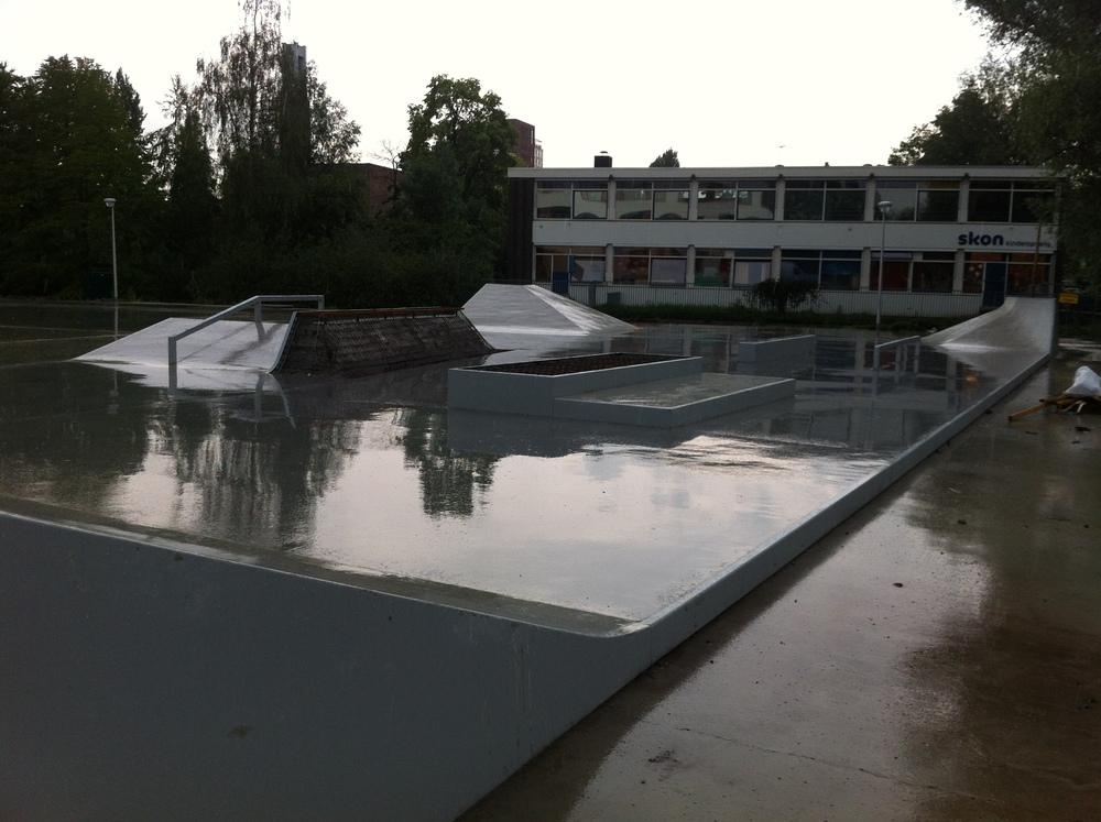 Thorbeckeveld te Gouda in aanbouw, juni 2014.