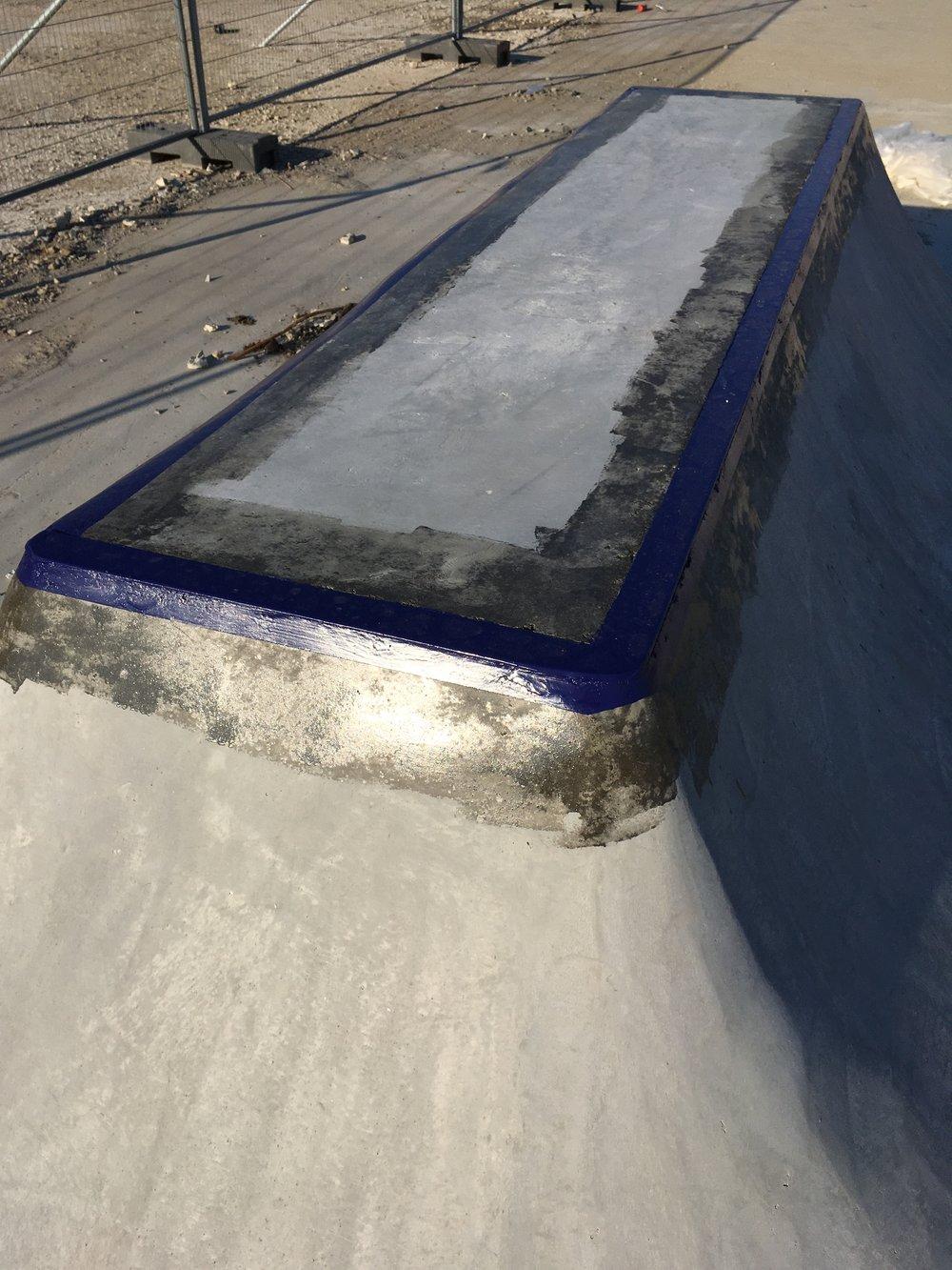 Quarterpipe Skatepark Yard
