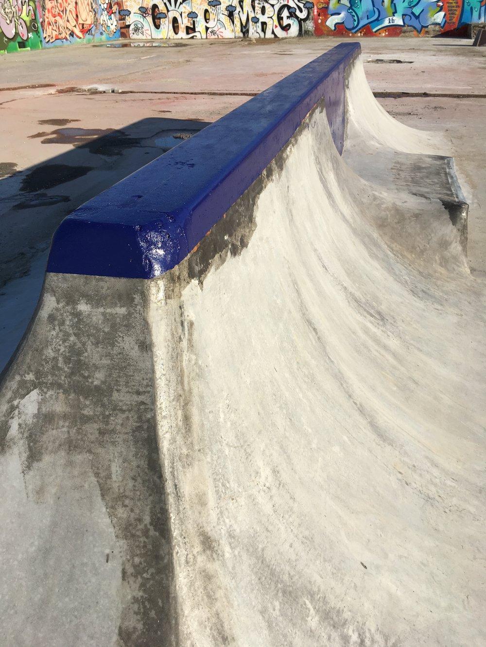 Spine detail skatespot Yard