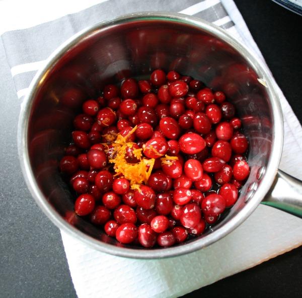 Maple cranberry sauce