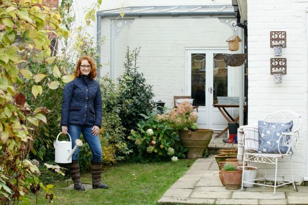 022Rebecca in her Garden Stamford
