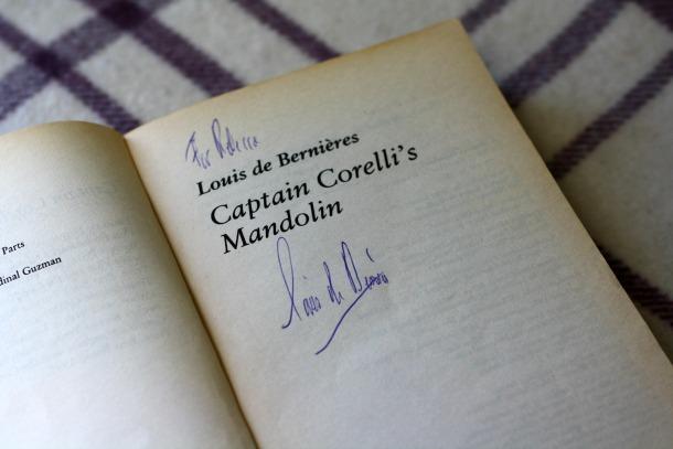 Signed Captain Corelli - Rebecca Jones