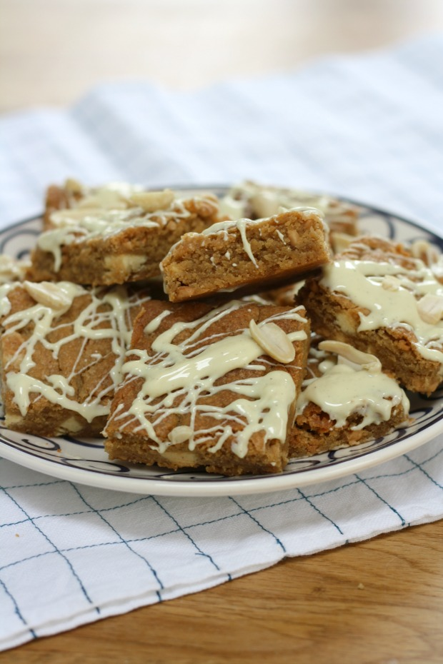 White chocolate and peanut butter blondies Really Pretty Useful 6