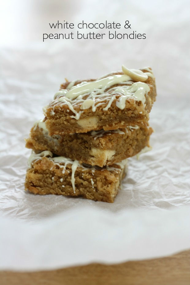 white chocolate and peanut butter blondies really pretty useful header