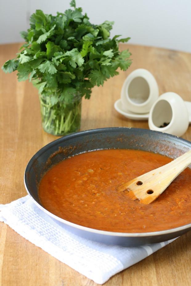 Homemade Chicken Tikka Masala with secret veg sauce