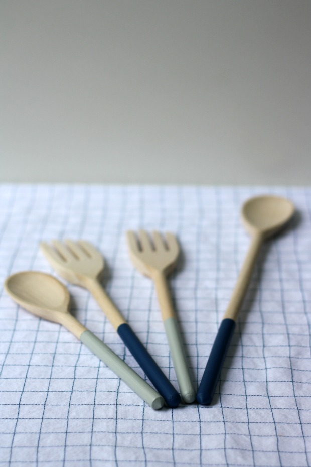 Painted utensils | Really Pretty Useful