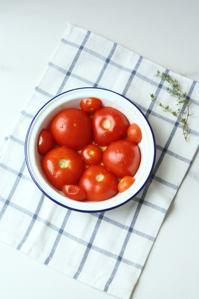 Tomato Tarte Tatin | Really Pretty Useful