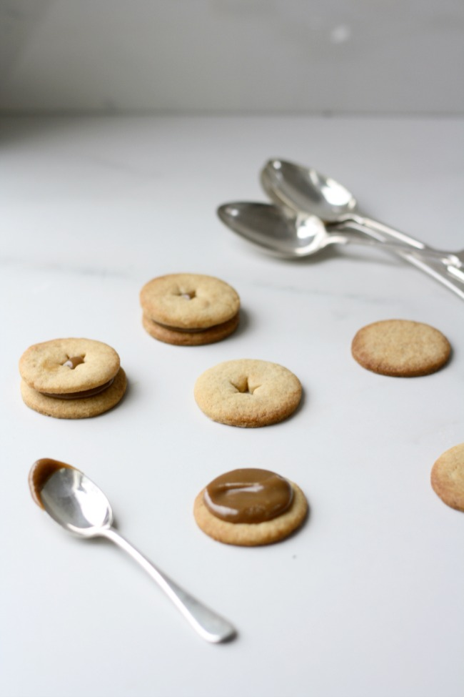 Salted caramel malt biscuits 3 Really Pretty Useful