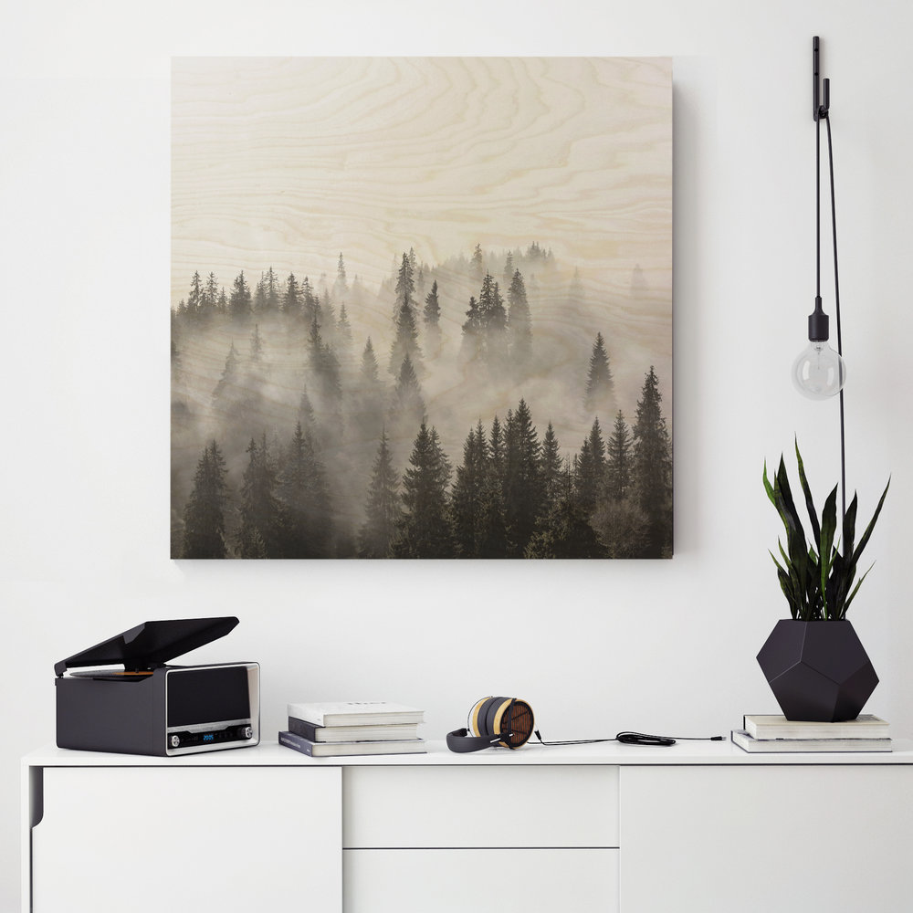 BW forest on original above sideboard.jpg