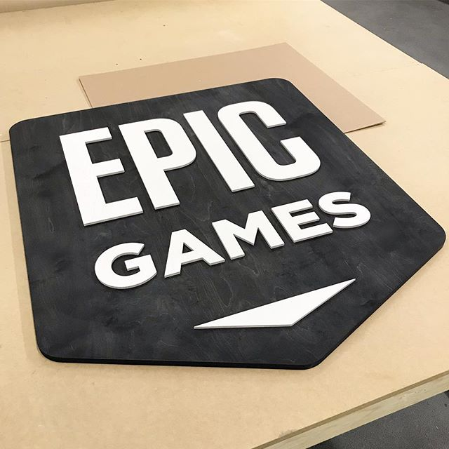 We just finished off some large scale plywood signs for Easy Anti Cheat Oy. We utilised all the features of our new Zund cnc to cut and mark the surface of our high quality 15mm plywood. Added ebony stain and printed white surface to the plywood before assembly.  #lasercutstudio #madeinhelsinki #easyanticheat #epicgames #unrealengine #cnc #zund #zunddigitalcutter #cncrouter #cncwoodworking #madeinfinland #plywood