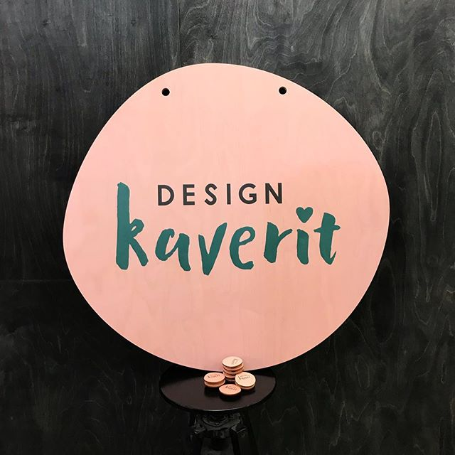Recently we finished a printed wooden sign and matching name tags for @designkaverit which is open in Forum Jyväskyla until the end of the month. This job combines all 3 of our different machines to get the job done! UV printing, laser cutting & CNC. Scroll right to see how it was done.  #lasercutstudio #madeinhelsinki #designkaverit #birchplywood #pefc #fsc #uvprinting #directprinting #cnc #cncrouter #zund #zundcutter  #ocearizona #canon #canonprinter #plywood #woodworking #digitalmanufacturing #workshop #cncdesign #woodworkers #lasercutting #lasercutter #trotec #designfromfinland #finnishdesign