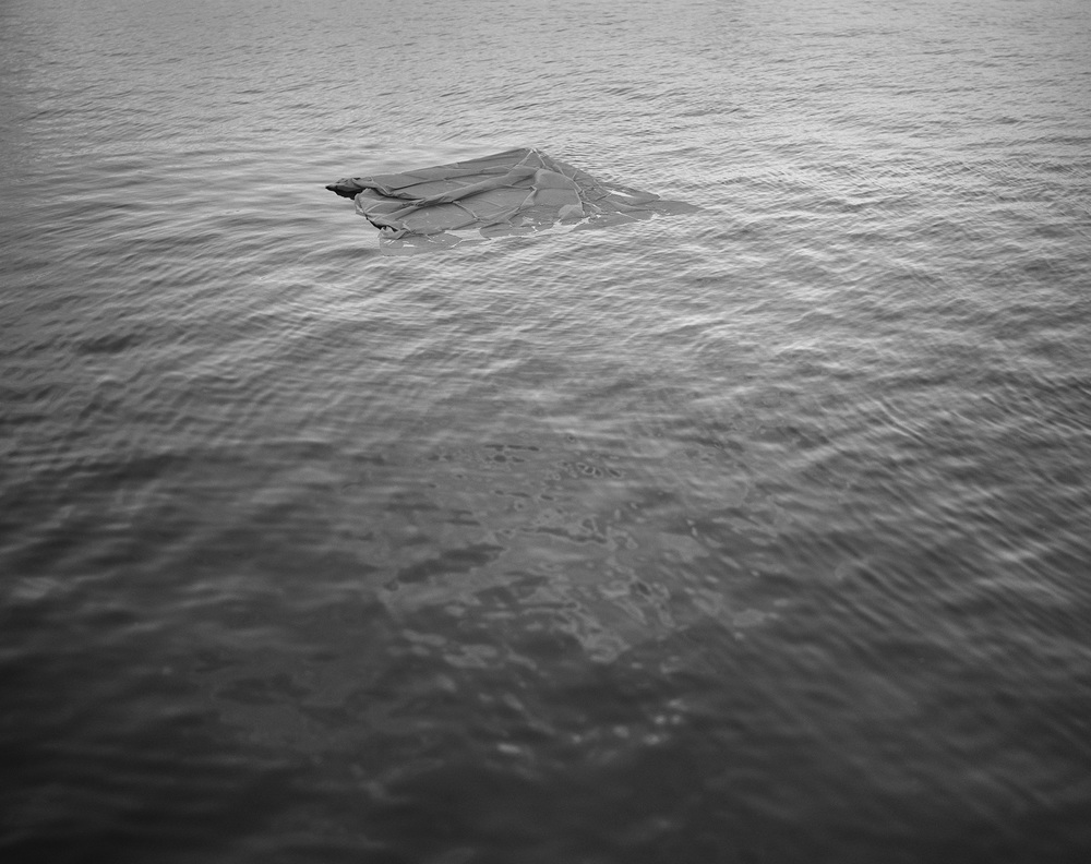 Cloth, styrofoam, string and anchor  2012 Silver Gelatin Print 1/18