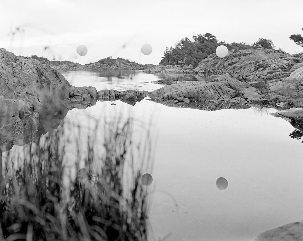 Rubber, string and rocks #01  2012 Silver Gelatin Print 3/18
