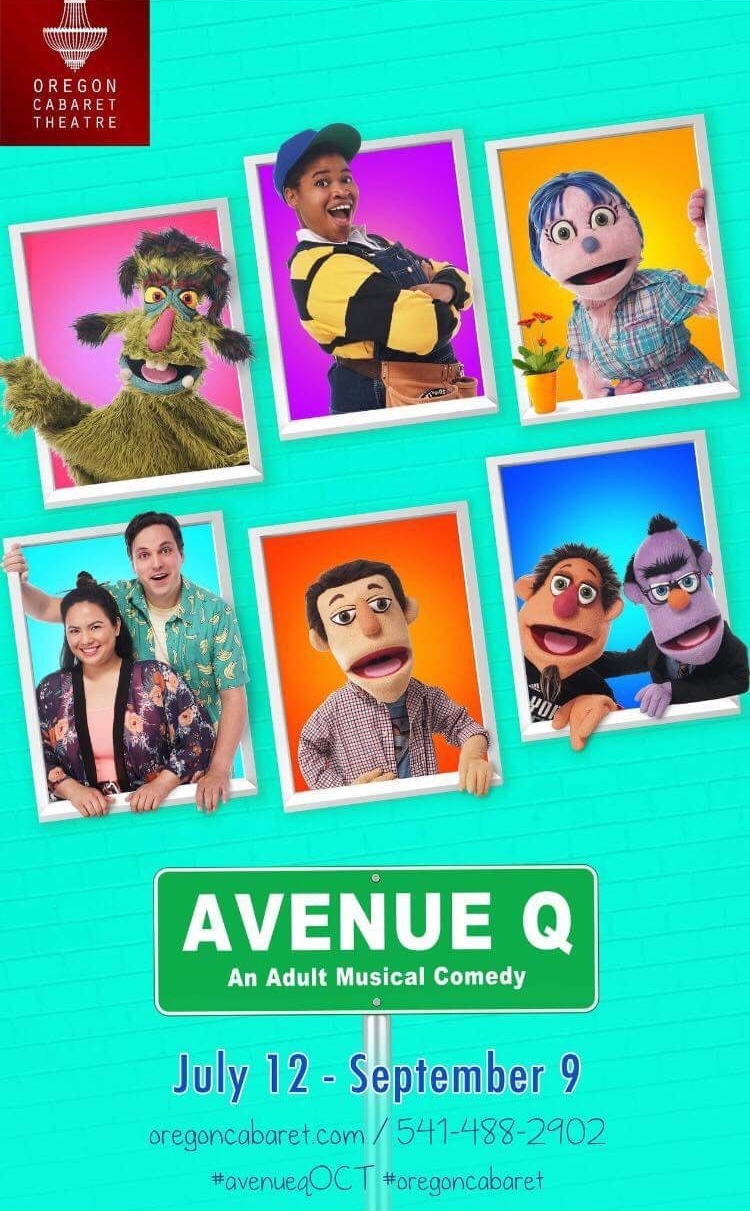 - Cat played Christmas Eve in Oregon Cabaret Theatre's production of AVENUE Q.