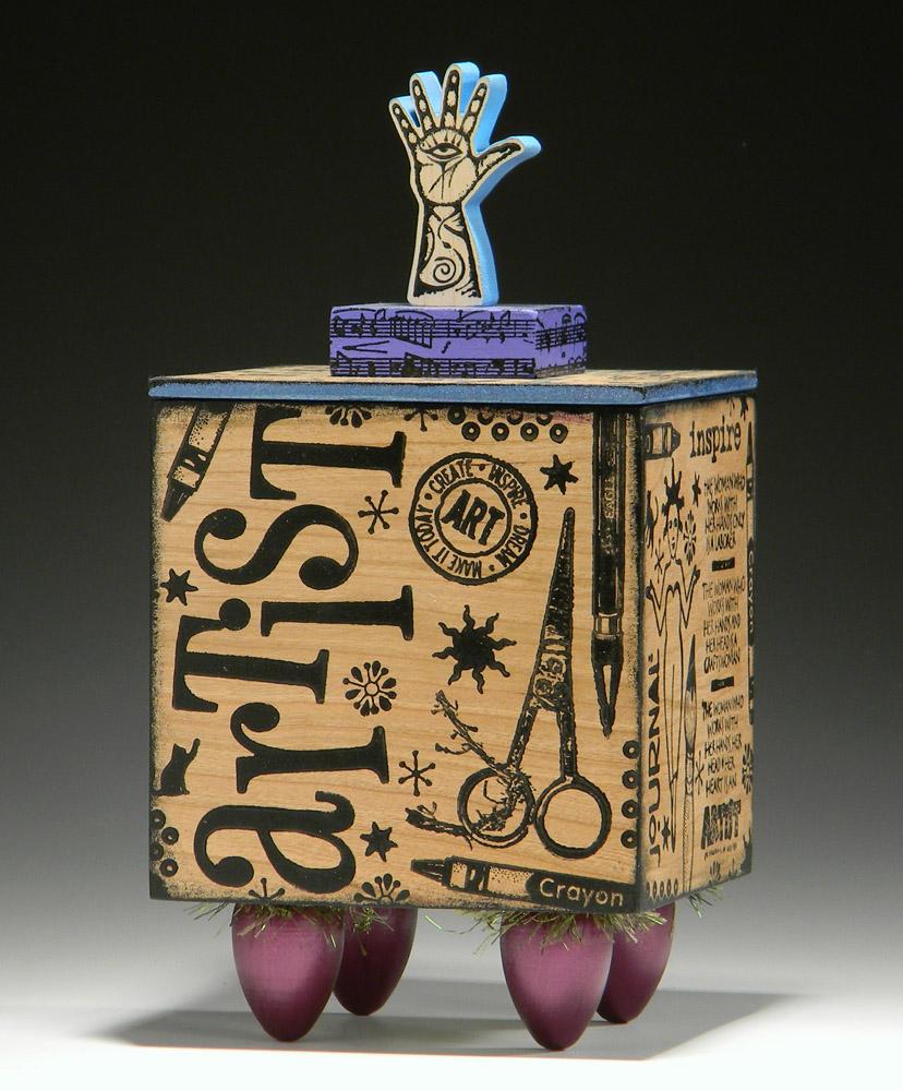 The Artist's Hand Box