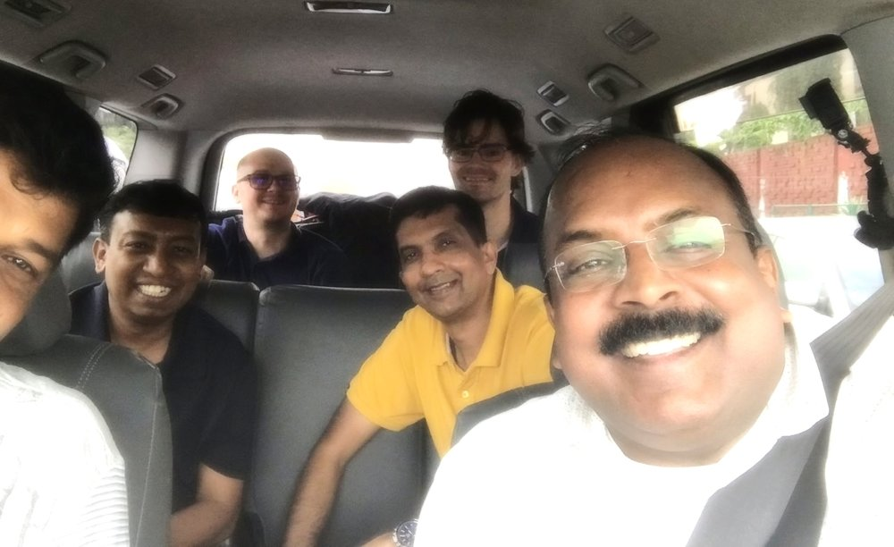 Dr. James Chacko and Global Advance team arrive in Dhaka, Bangladesh for a Frontline Pastors Church Planting Conference in July 2018
