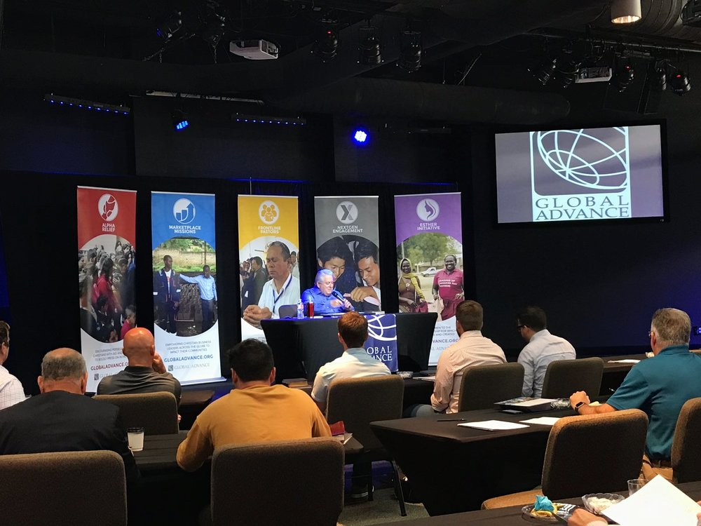 The first ever  Days with David for Pastors  event was held on August 16, 2018, in Rockwall, Texas.