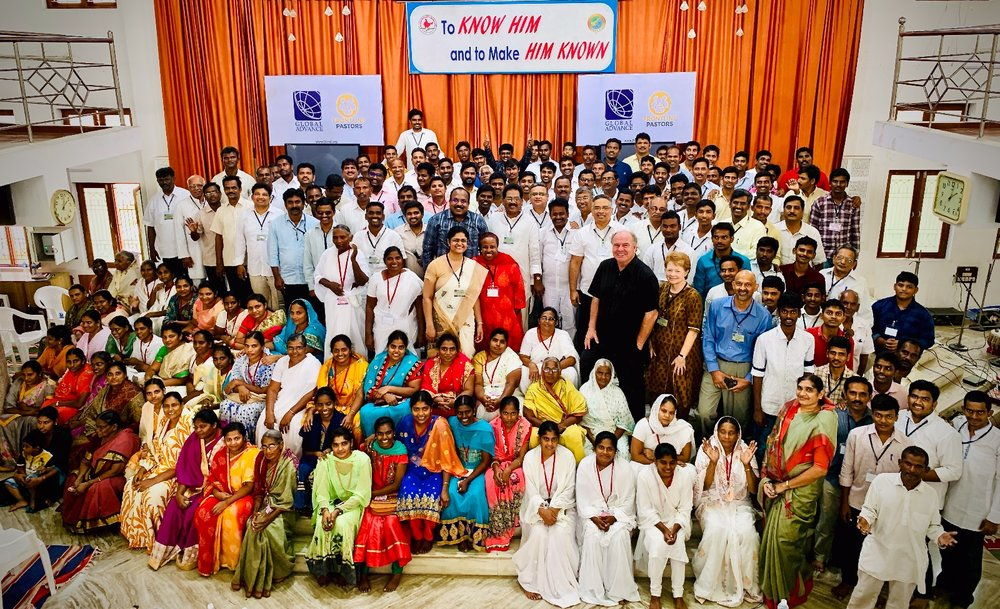 Through our combined Church Planting and Esther Initiative training conference in India in November, new church plant teams were inspired and resourced to boldly lock arms to fulfill the Great Commission in some of the most unreached areas of the world.