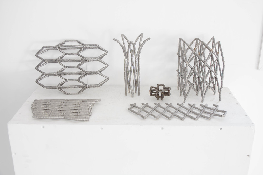 The combination of parametric modelling with digital fabrication makes it possible to create custom-made shapes with durable materials such as steel.